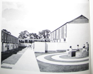 New post war housing estate Coventry