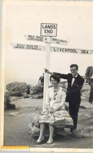 Lands end to Liverpool, Ron and Edna Jones 23 June 1963