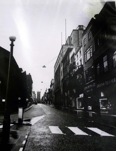 Bold Street c1958 image courtesy of Liverpool Record Office